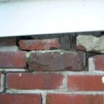 foundation inspection deteriorating brick foundation wall